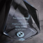 BMW 335d is the 2011 Diesel Car of the Year