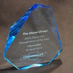 Chevrolet Chosen as 2014 Diesel Car Manufacturer of the Year