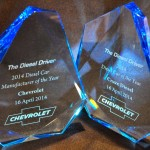 Chevrolet Cruze Diesel Named 2014 Diesel Car of the Year