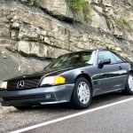 Review and Test Drive:  1993 Mercedes-Benz 500SL Coupe/Roadster