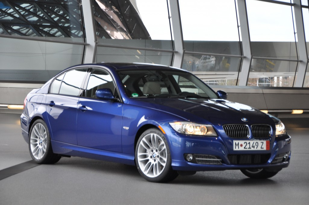 The BMW 335d, new for 2009