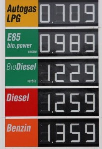pump prices e85 biodiesel