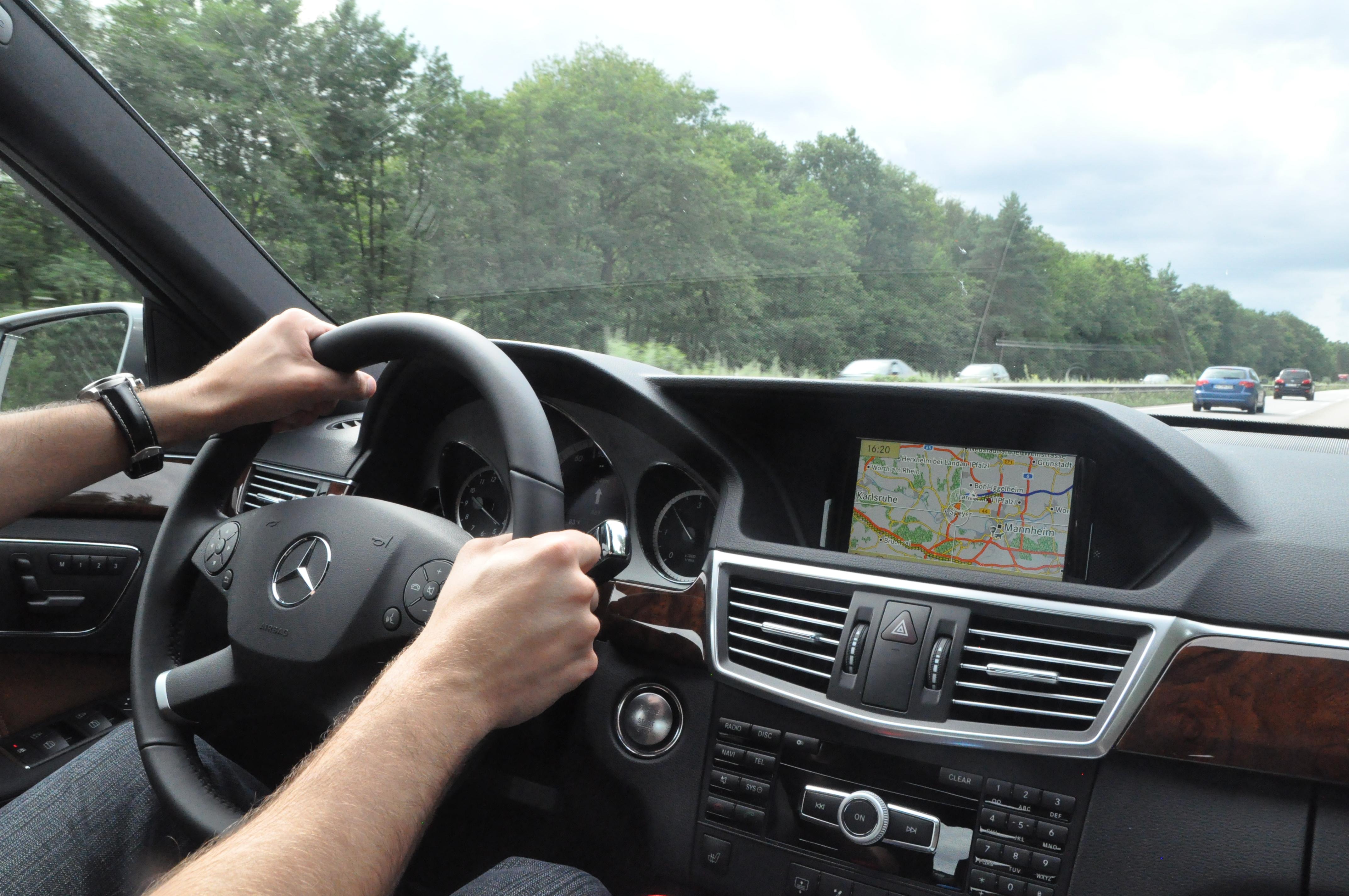 European Delivery Report and First Drive Sindelfingen to Maastricht