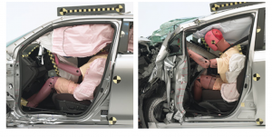 Suzuki Kizashi (left) and Toyota Prius v
