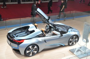 BMW's i8 electric vehicle concept