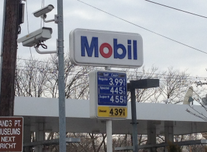 Fuel prices in the New York area in the past week