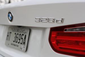 The BMW 328d sedan