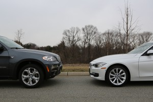 BMW X5 xDrive35d and BMW 328d