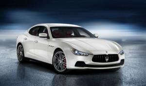 The new Maserati Ghibli diesel sedan