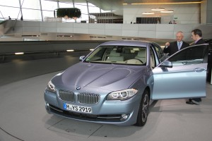 Delivery at the BMW Welt