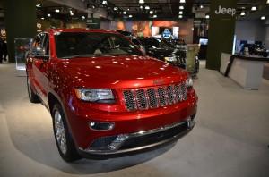 A 2014 Jeep Grand Cherokee EcoDiesel