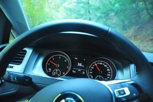 Behind the wheel of a Golf TDI