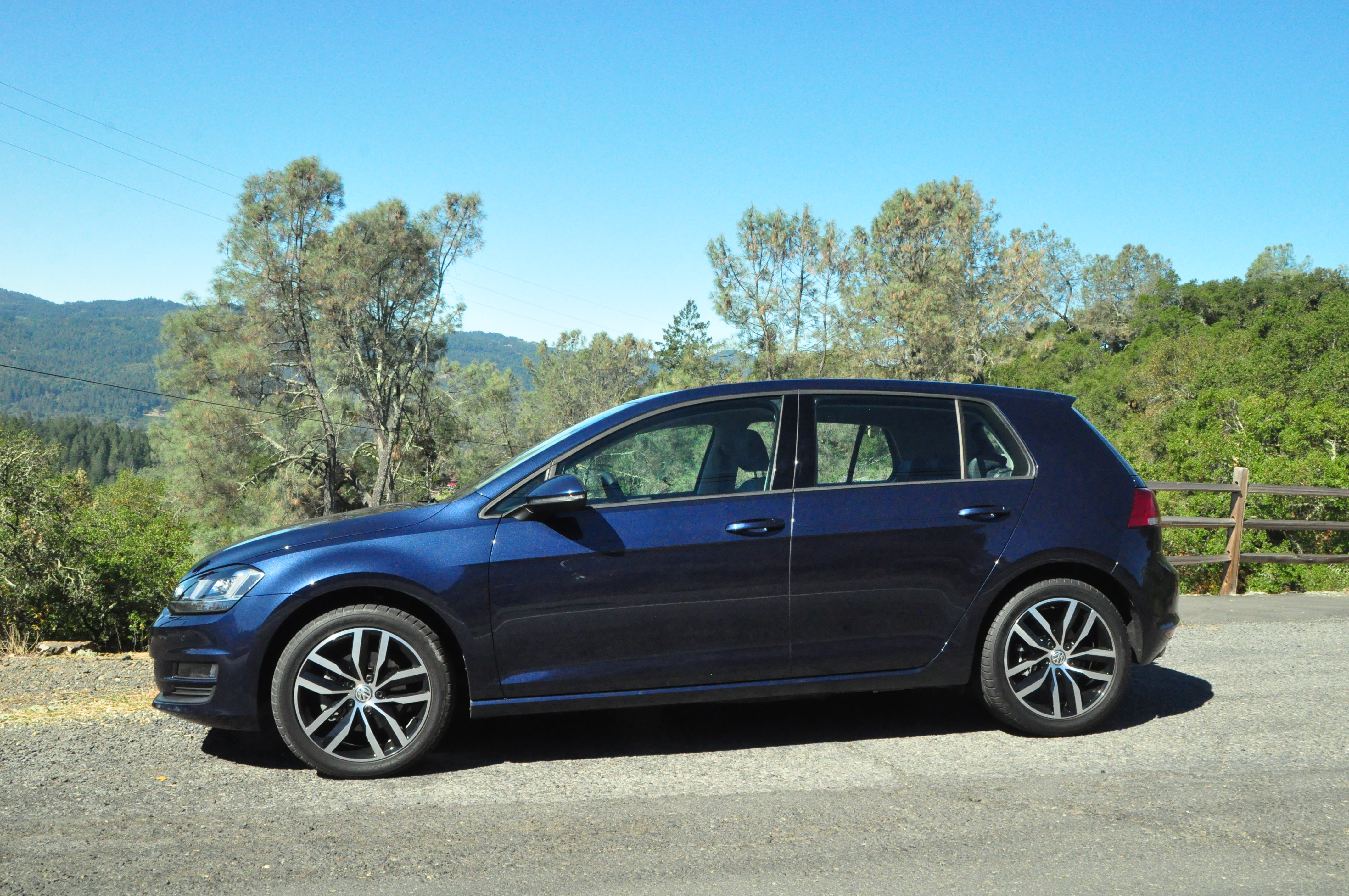 2015 volkswagen golf tdi first drive review car autos post. Black Bedroom Furniture Sets. Home Design Ideas