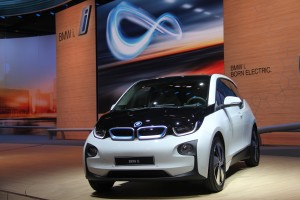 The 2014 BMW i3 at the IAA