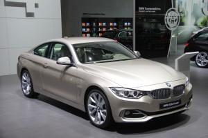 The BMW 420d coupe