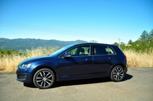 The seventh-generation VW Golf TDI