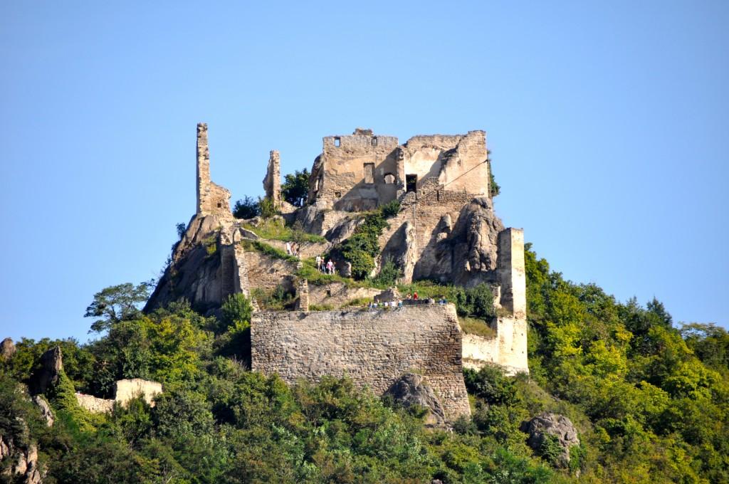 Castle ruins in Dürnstein