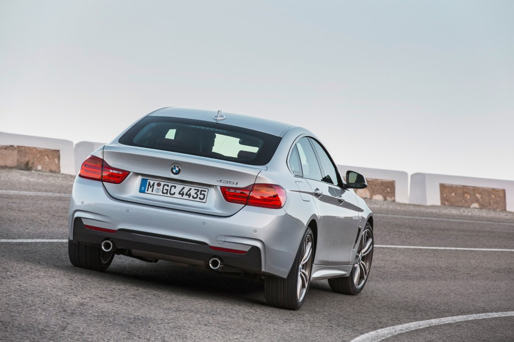 The BMW 4 Series Gran Coupe with M Sport package