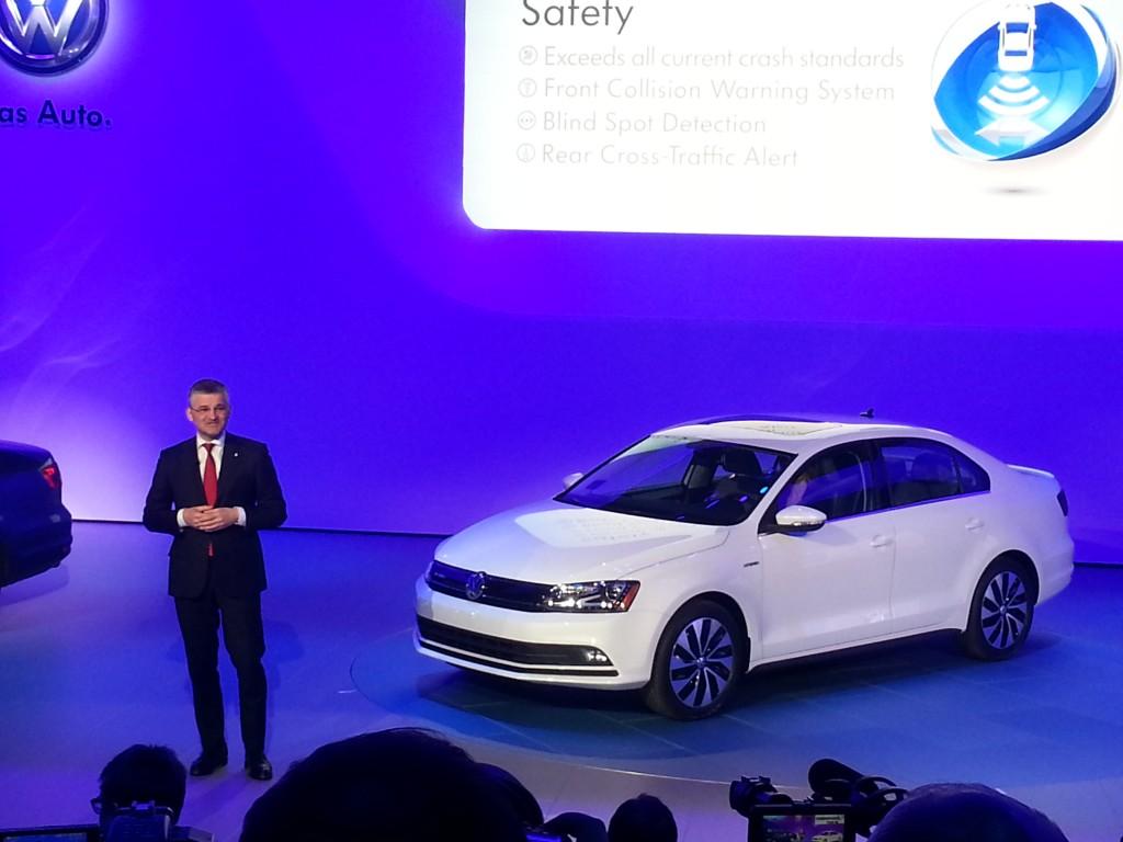 VW Jetta Debut