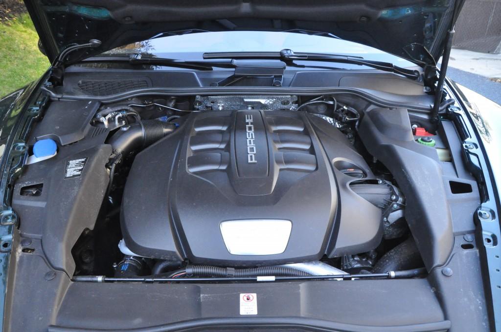 Porsche Cayenne Diesel engine