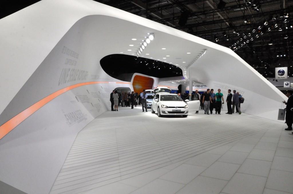 VW at a recent Paris Motor Show