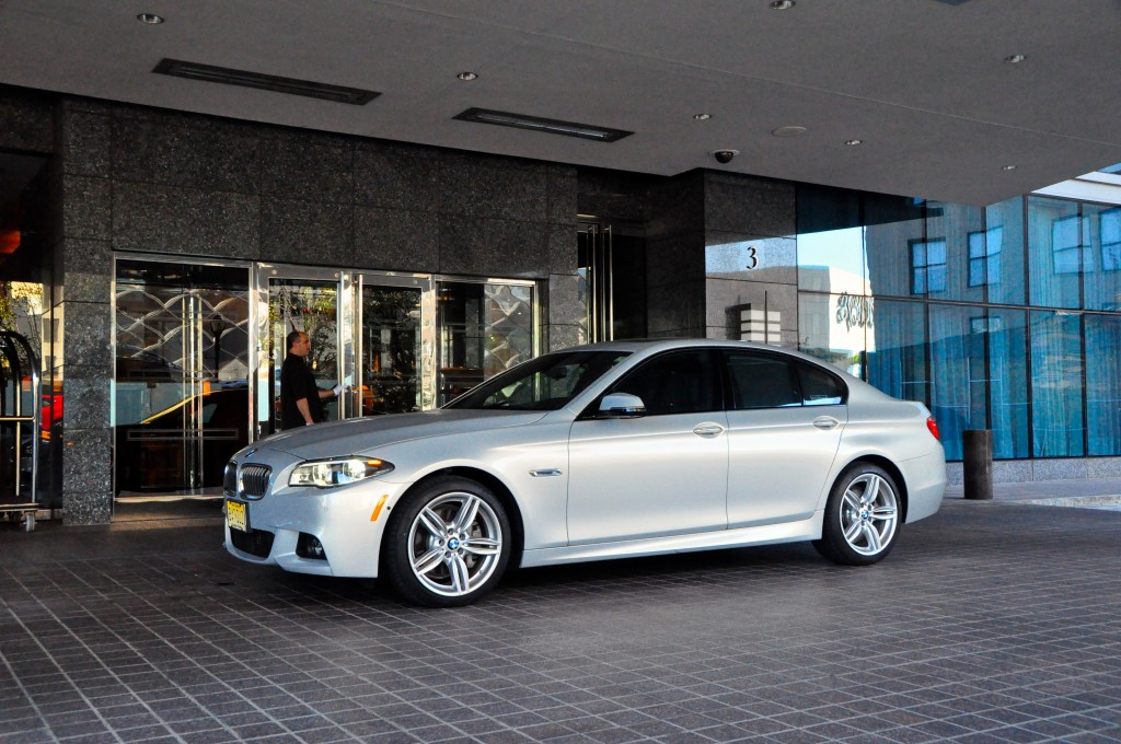 BMW 535d at the Ritz-Carlton, Westchester