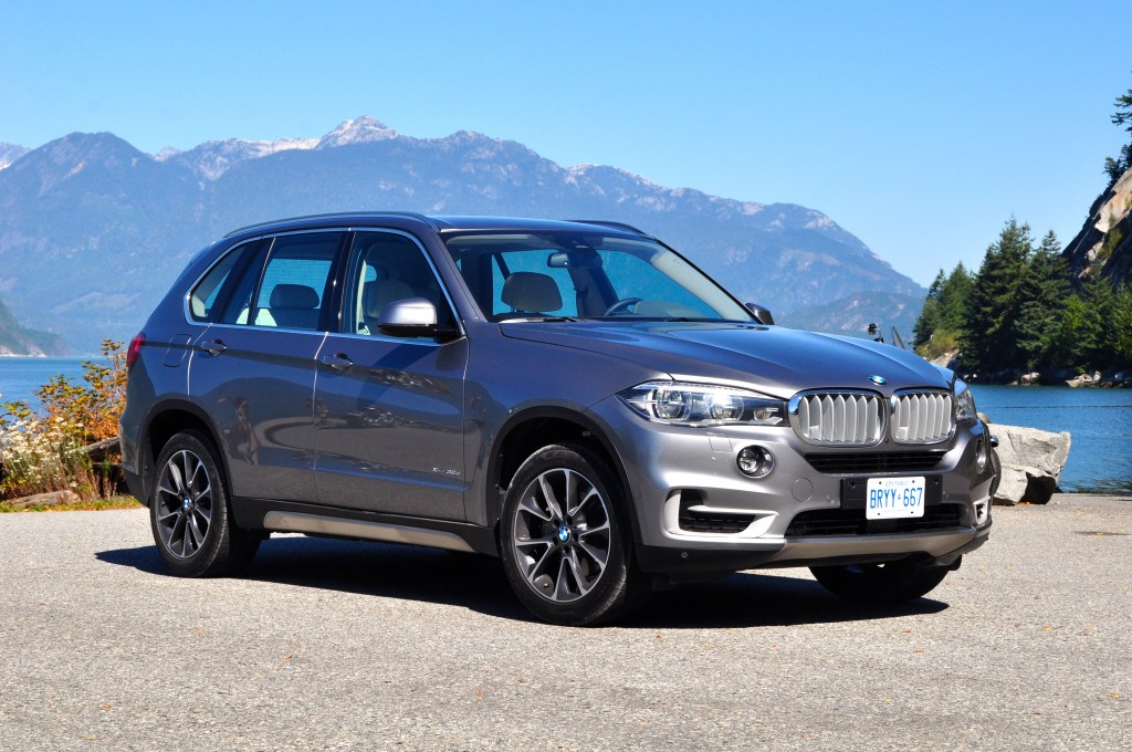 The diesel-powered version of the BMW X5