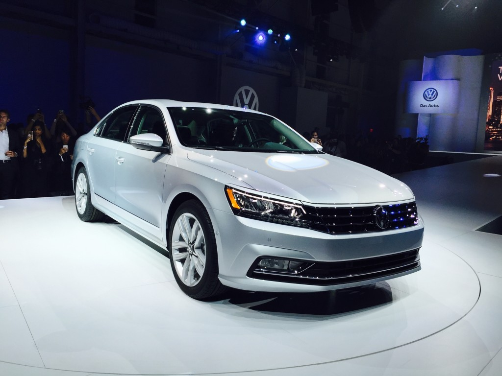 2016 Volkswagen Passat at the Brooklyn Navy Yard