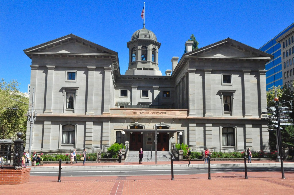 Pioneer Courthouse, Portland