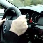 Driving a 535d at 240 km/h