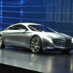 Mercedes-Benz unveils SLK 250 CDI Diesel Roadster, B-Class, B-Class E-Cell, F125