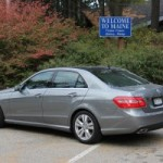 Mercedes-Benz E350 BlueTec Test Drive and Report: The Road to Kennebunkport