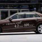 Mercedes-Benz Unveils E300 BlueTec Hybrid Diesel Sedan – First Look