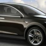 Tesla Unveils Model X SUV Electric Vehicle