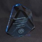 Volkswagen Chosen as 2013 Diesel Car Manufacturer of the Year