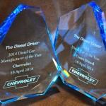 Chevrolet Cruze Diesel Named 2014 Diesel Car of the Year