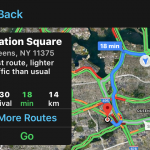 Google to Add Support for Routes with a Low-Carbon Footprint in Maps App